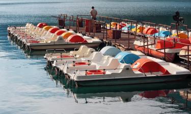 Spændende aktiviteter ved og på Gardasøen