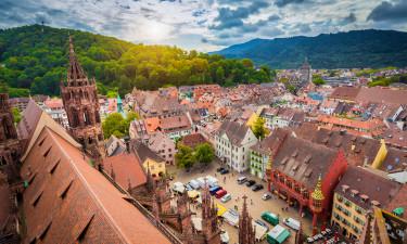 Fantastiske byer i Schwarzwald