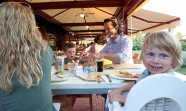 Italiensk restaurant og poolbar
