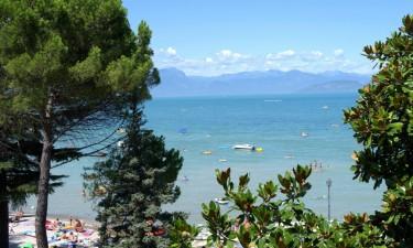 De bedste campingpladser ved Gardasøen