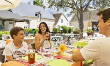 Restaurant Camping Domaine de Dugny in der Loire