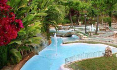 Pool Camping Park Playa Bara