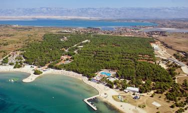 Camping Zaton i Dalmatien