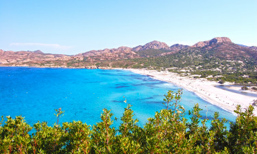 Camping på Korsika