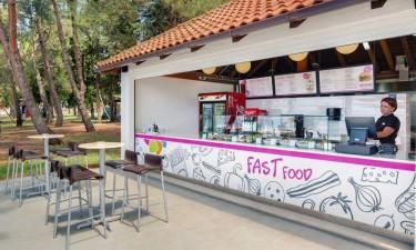 Restaurant, cafe og snackbar