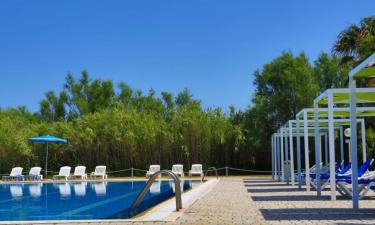Pool Camping Torre Rinalda in Apulien