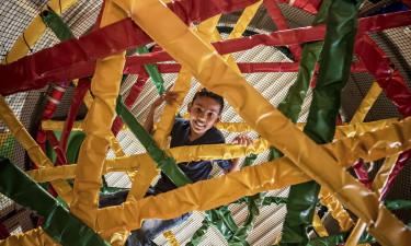 Aktiviteter,  sjov og leg for børnene på Rabbit Hill