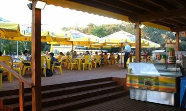 Supermarked og basar på Spina Camping Village