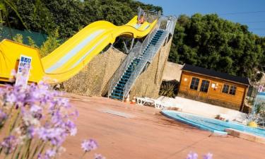 Pool Camping La Baie des Anges an der Côte d'Azur