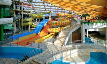 Sjovt poolområde