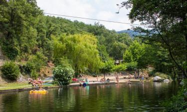 Tag en naturlig svømmetur