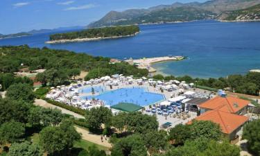 Strande og poolområde