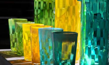 Glaskunst på Bornholm