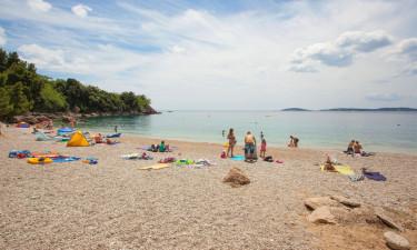 Campingplads direkte til stranden