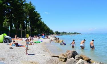 Stranden ved Gardasøen