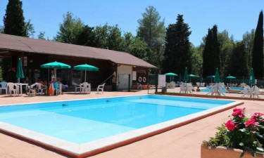 Pool Camping Pian di Boccio in Umbrien