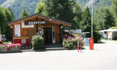 Campingplads ved Alpe d'Huez