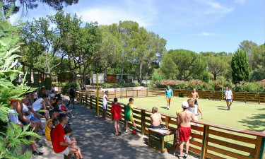 Faciliteter på Camping La Bastiane