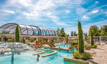 Populære campingpladser i Frankrig