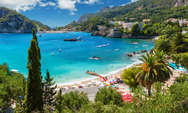 Strande ved Korfu