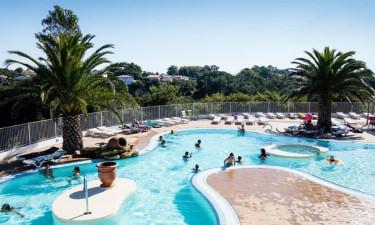 Pool Camping Erreka in Süd-West Frankreich