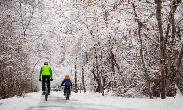 Cykelture på Bornholm i vinterferien