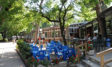 Restauranter og bazar