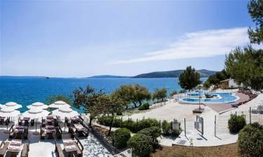 Campingferie på Belvedere Trogir i Dalmatien