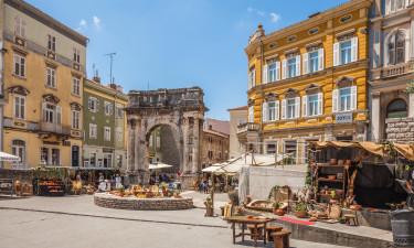 Miasta w Istrii