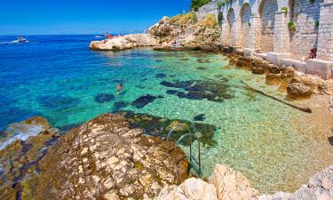 Les meilleures régions où camper en Croatie