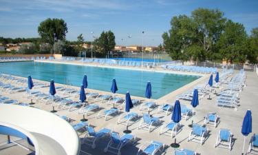Pool Camping Elysee in Languedoc