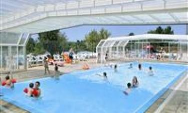 Populært poolområde for hele familien