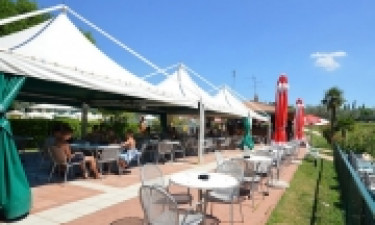 Restaurant Camping Park Delle Rose am Gardasee