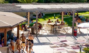 Restaurant Camping La Masseria in Apulien
