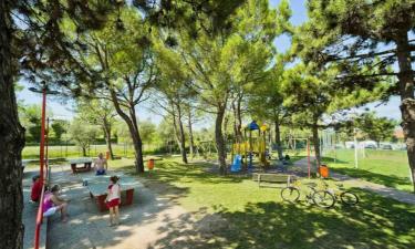 Ausflugsziel Camping Park Delle Rose am Gardasee