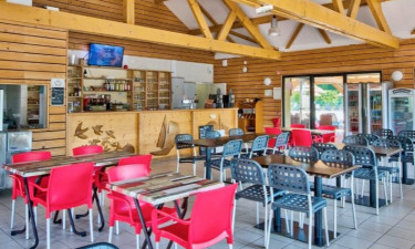 Restaurant Camping Lac d'Orient in Nord-Ost Frankreich