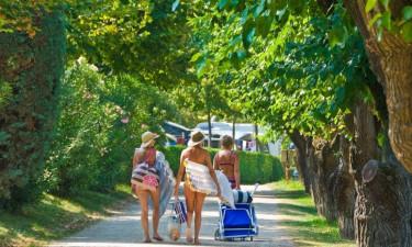 Camping Du Parc ved Gardasøen