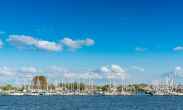 Flevoland i det centrale Holland