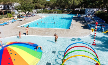 Pool på Camping Neptuno