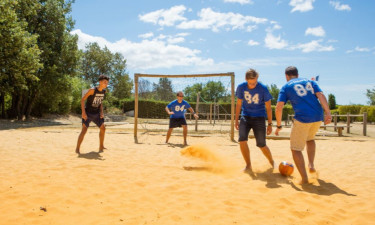 Sport Camping Les Chênes Blancs in der Provence