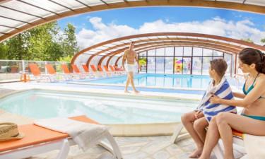 Pool Camping Domaine de Dugny in der Loire