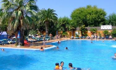 Pool på Camping Solmar
