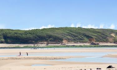 Tæt på prisvindende strand