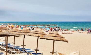 Strand Camping Le Soleil de la Mediterranee in Languedoc