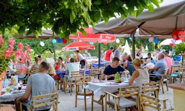 Restaurant på feriestedet