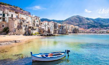 Italien og ø-camping