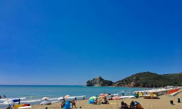 Til smukke Toscana på camping