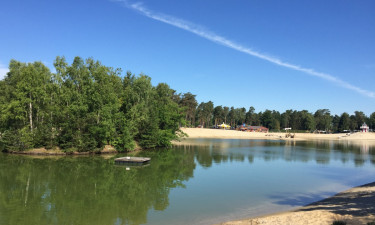 Strand og badesø