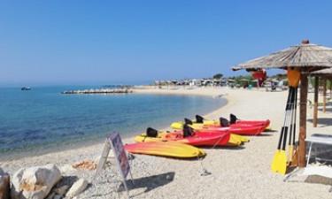 Baseny, plaża i inne udogodnienia na miejscu