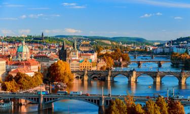 Camping i Prag i Tjekkiet